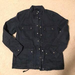 Gap navy utility jacket